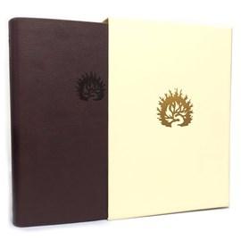 Bíblia de Estudo da Fé Reformada | ARA | Letra Grande | Capa Luxo Vinho com Estojo
