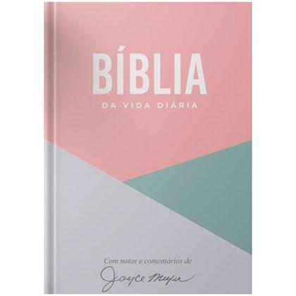 Bíblia de Estudo da Joyce Meyer Geométrica | NVI | Letra Grande | Capa Dura