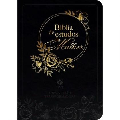Bíblia de Estudo da Mulher | NVT | Capa Preta