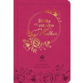 Bíblia de Estudo da Mulher | NVT | Capa Rosa