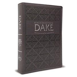 Bíblia de Estudo Dake | ARC | Cinza