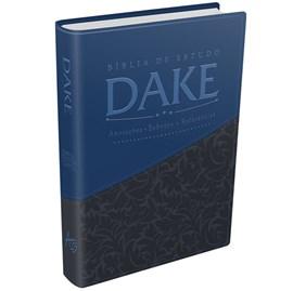 Bíblia de Estudo Dake - Azul e Cinza