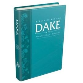 Bíblia de Estudo Dake - Azul Turquesa