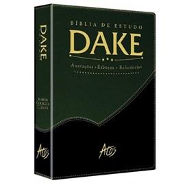Bíblia de Estudo Dake - Verde e Preta