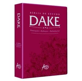 Bíblia de Estudo Dake - Vinho