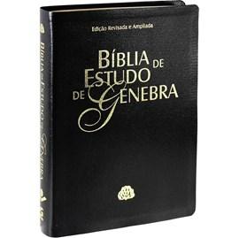 Bíblia de Estudo de Genebra | Letra Normal | ARA | Capa Preta Nobre