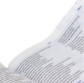 Bíblia de Estudo do Discipulado   NAA   Capa Brochura Azul