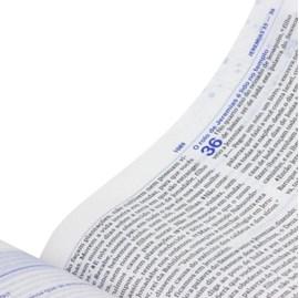 Bíblia de Estudo do Discipulado | NAA | Capa Flexível Preta