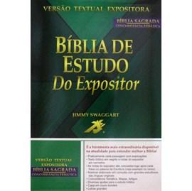 Bíblia De Estudo do Expositor | Letra Normal | NVTE | Capa Preta