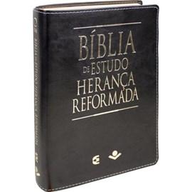 Bíblia de Estudo Herança Reformada | ARA | Capa Preta