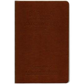 Bíblia de Estudo Joyce Meyer | NVI | Letra Grande | Capa Marrom Café
