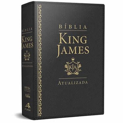 Bíblia de Estudo King James | KJA Letra Grande | Preta