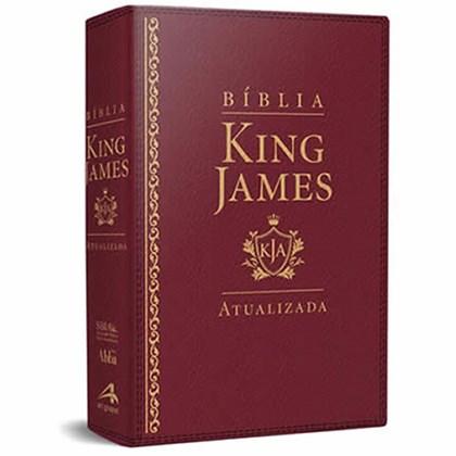 Bíblia de Estudo King James | KJA Letra Grande | Vinho