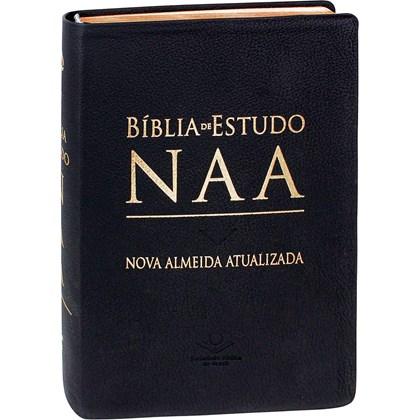 Bíblia de Estudo | NAA | Letra Normal | Capa Couro Legítimo