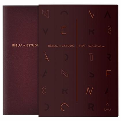 Bíblia de Estudo | NVT | Vinho