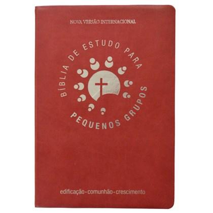 Bíblia de Estudo para Pequenos Grupos | NVI Letra Normal | Vermelha