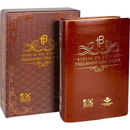 Bíblia de Estudo Pregando com Poder   ARC   Letra Normal   Capa Preta