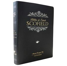 Bíblia de Estudo Scofield  | ACF | Letra Média C/ Concordância | Capa Preta Luxo