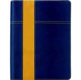 Bíblia de Estudo Thompson | AEC | Azul/Amarelo