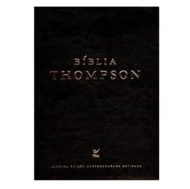 Bíblia de Estudo Thompson AEC   Capa Pu - Preto