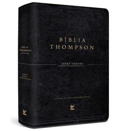 Bíblia de Estudo Thompson | AEC Letra Grande | Preta Luxo