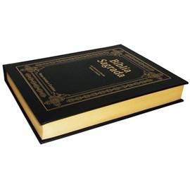 Bíblia de Pulpito | ARC | Letra Extragigante | Capa Percalux Preto Luxo