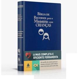 Bíblia de Recursos para o Ministério com Crianças | Apec | ARA | Azul Luxo