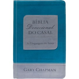 Bíblia Devocional do Casal Gary Chapman | NVI | Letra Normal | Capa Verde