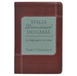 Bíblia Devocional do Casal Gary Chapman | NVI | Letra Normal | Capa Vermelha