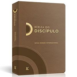 Bíblia do Discipulo | NVI Letra Normal | Luxo Marrom