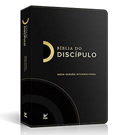 Bíblia do Discípulo | NVI Letra Normal | Luxo Preta