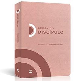 Bíblia do Discípulo | NVI Letra Normal | Luxo Rosa