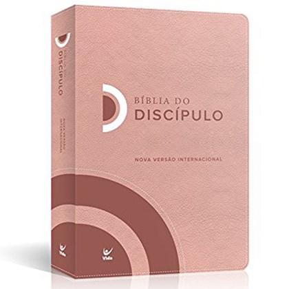 Bíblia do Discípulo   NVI Letra Normal   Luxo Rosa