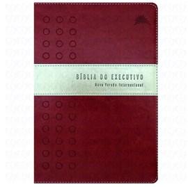 Bíblia do Executivo | NVI Letra Normal | Vinho e Prateado
