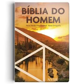 Bíblia do Homem | NVI | Letra Média | Capa Ilustrada Pôr do Sol