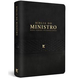 Bíblia Do Ministro | NVI | Letra Normal | Pu Preto