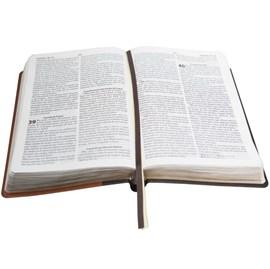 Bíblia do Obreiro | Letra Grande | ARA | Capa Marrom Luxo