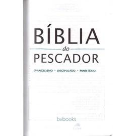 Bíblia Do Pescador | Letra Grande | NVI | Capa Azul