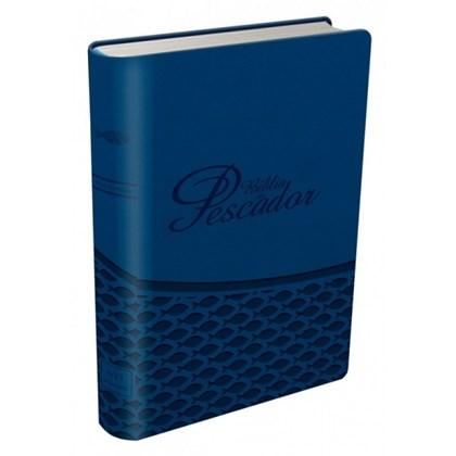 Bíblia Do Pescador   Letra Grande   NVI   Capa Azul