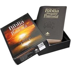 Bíblia do Pregador Pentecostal | Letra Normal | ARC | Capa Preta Nobre | c/ Índice