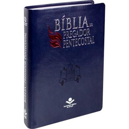 Bíblia do Pregador Pentecostal | NAA | Índice | Azul Nobre | c/ Índice