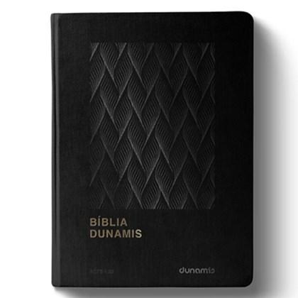 Bíblia Dunamis Clássica Preta   NAA   Letra Normal   Capa Luxo