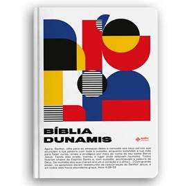 Bíblia Dunamis Geométrica | NAA | Letra Normal | Capa Soft Touch