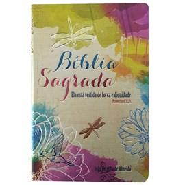 Bíblia Ela está Vestida | ARC | Letra Grande | Capa Dura