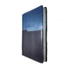Bíblia em Ordem Cronológica | NVI Letra Normal | Capa Luxo Azul