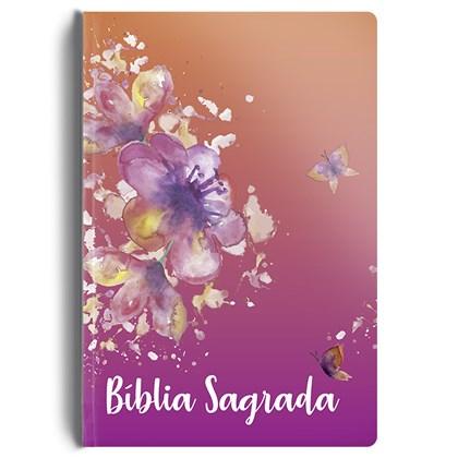 Bíblia Especial Borboletas   NVT   Letra Normal   Capa Dura