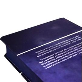 Bíblia Essencial | NAA | Letra Normal | Capa Dura Azul