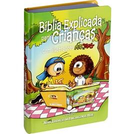 Bíblia Explicada Para Crianças com Ilustrações Mig e Meg | NTLH | Capa Dura Ilustrada