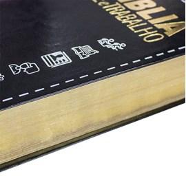 Bíblia Fé e Trabalho   Letra Normal   NAA   Capa Flexível Preta