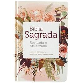 Bíblia Flor de Henna | ARA | Letra grande | Capa Dura
